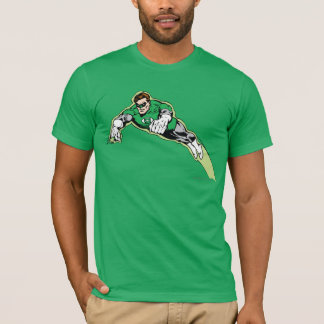 Camiseta Feixe de energia verde da lanterna