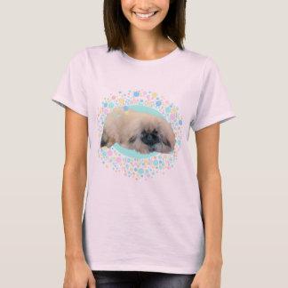 Camiseta Felicidade da bolha de Pekingese