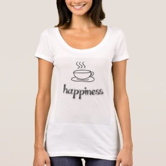 Camiseta Felicidade do café