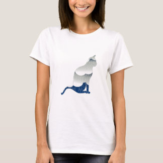 Camiseta Felicidade felino