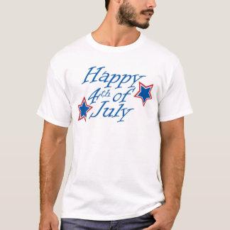 Camiseta Feliz 4o julho - luz