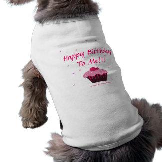 Camiseta Feliz aniversario a mim!!!
