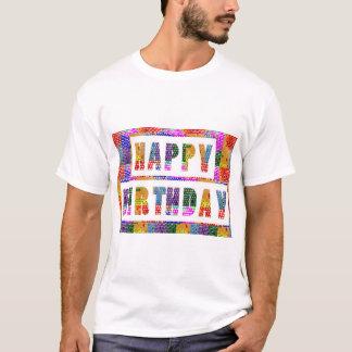 Camiseta FELIZ ANIVERSARIO: O artista criou a cor da pia