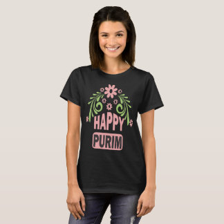 Camiseta feliz de Purim