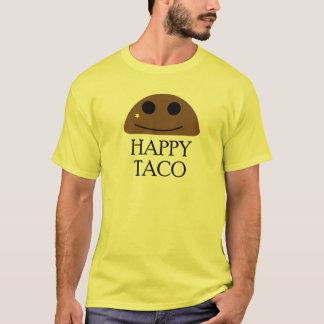 Camiseta feliz do Taco