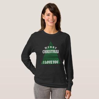 Camiseta Feliz Natal eu te amo