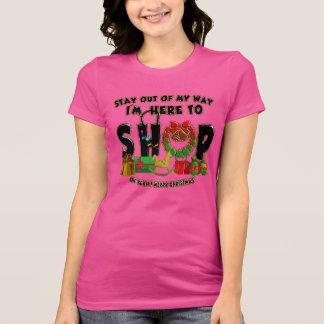 Camiseta Feliz Natal - t-shirt engraçado da compra do
