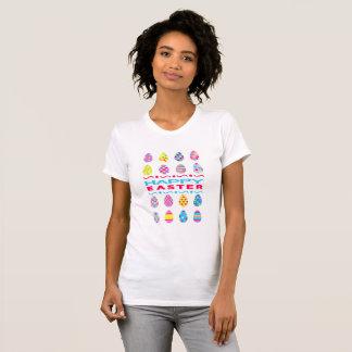 Camiseta Felz pascoa - ovos criativos
