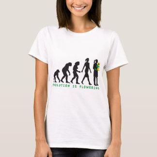 Camiseta female florist evolution gardener