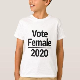 Camiseta Fêmea 2020 do voto