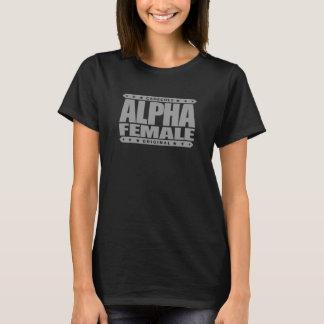 Camiseta FÊMEA ALFA - eu sou beta verificador masculino