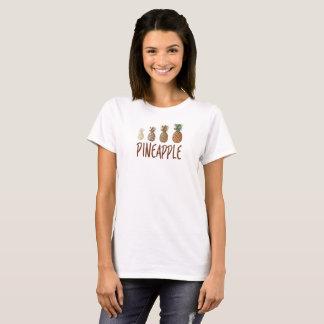 Camiseta feminina abacaxi