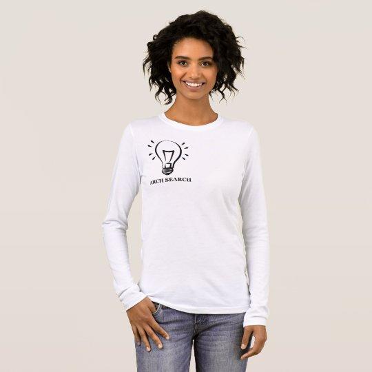Camiseta feminina Básica Long Arch Search