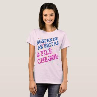 Camiseta Feminina de Carnaval Suspende As Fritas