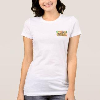 Camiseta Feminina  - Em Harmonia com A Folia