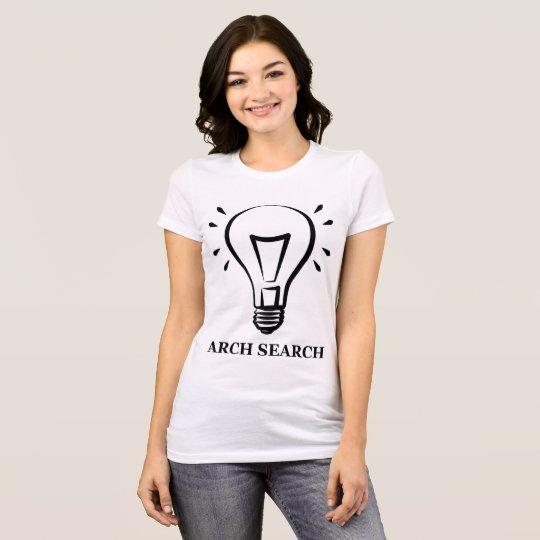 Camiseta feminina Favorite Arch Search