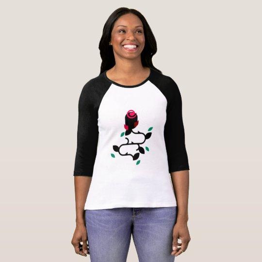 Camiseta Feminina Flower 01