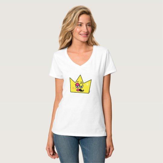 Camiseta Feminina Hanes Nano Gola V- Transgênero