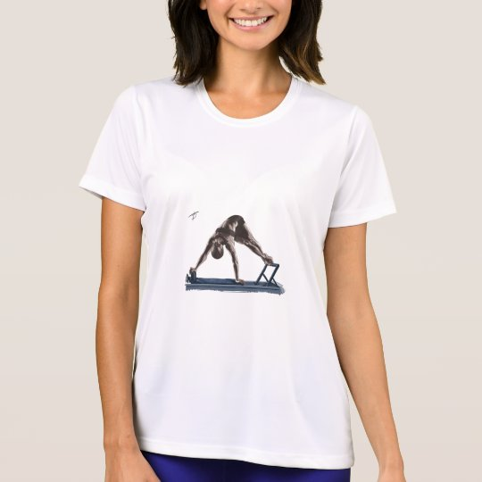 Camiseta Feminina Micro-fibra Pilates Reformer