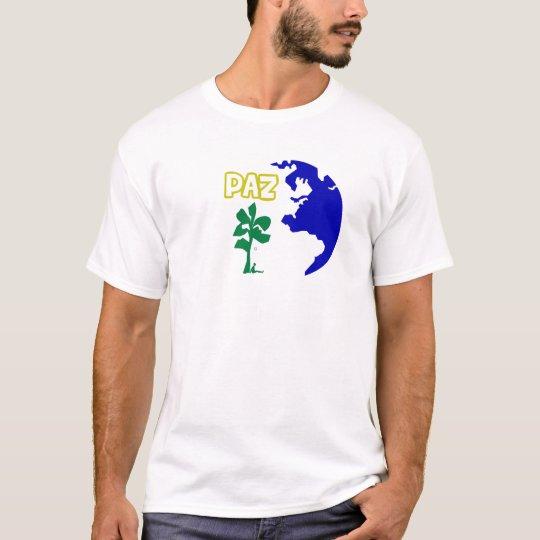 Camiseta Feminina Paz 003