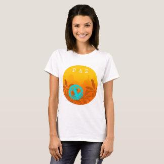 Camiseta Feminina Paz Rio de Janeiro Exclusiva Aya