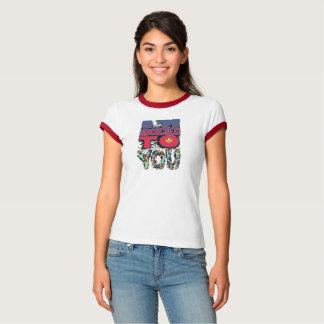 Camiseta Feminina Ringer