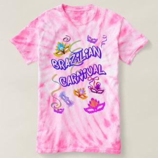 Camiseta Feminina Rosa Carnaval do Brasil