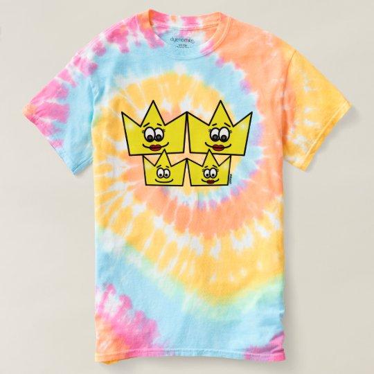 Camiseta feminina tie-dye Spiral - Família Gay