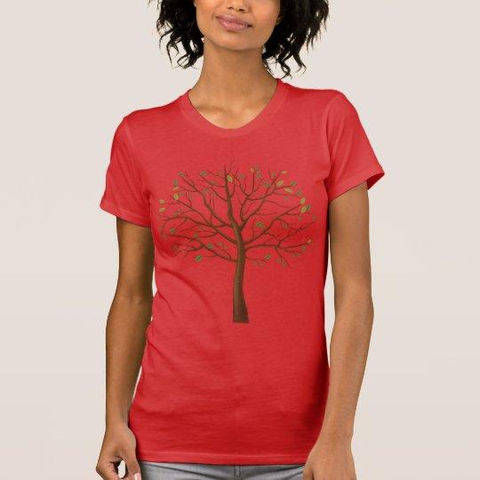 Camiseta feminina Tree