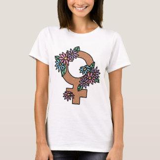 Camiseta Feminisim e t-shirt das flores