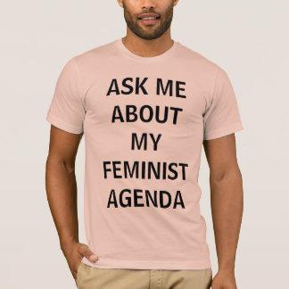 Camiseta Feminista da banda desenhada