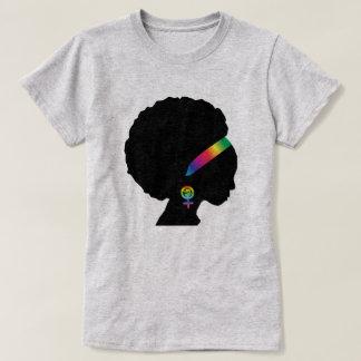 Camiseta Feminista lésbica do afro-americano