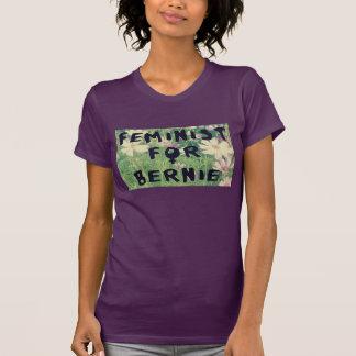 Camiseta Feminista para as máquinas de lixar 2016 de Bernie