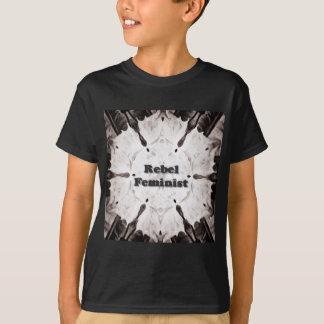 Camiseta Feminista rebelde