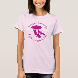 Camiseta Férias da irmã