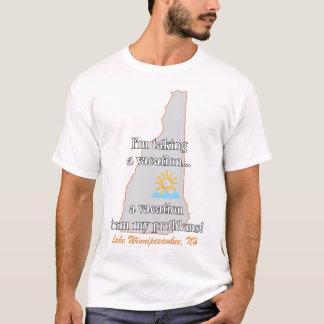 Camiseta férias de meus problemas