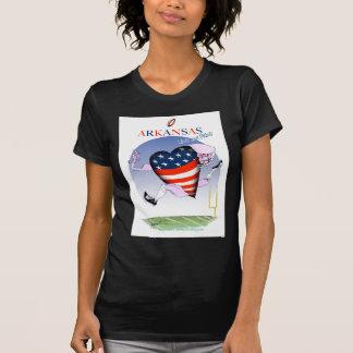 Camiseta fernandes tony altos e orgulhosos de arkansas,