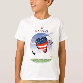 Camiseta fernandes tony altos e orgulhosos de kansas,