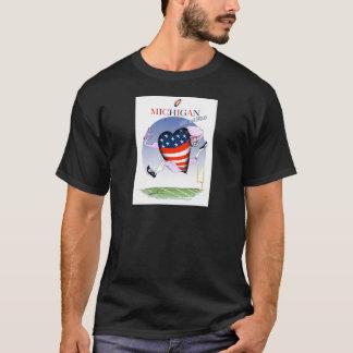 Camiseta fernandes tony altos e orgulhosos de michigan,