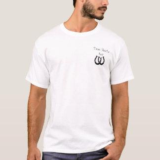 Camiseta ferraduras, aposta de Shasta da equipe