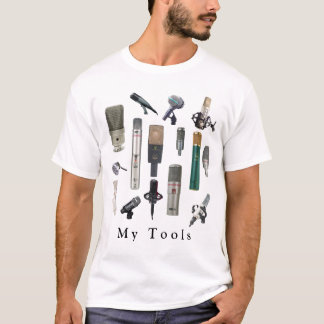 Camiseta Ferramentas audio do engenheiro