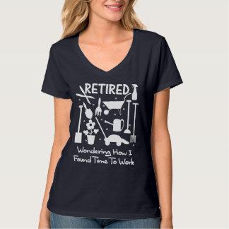 Camiseta Ferramentas de jardim engraçadas do slogan da