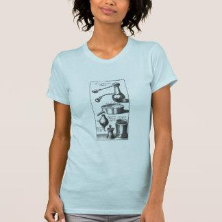 Camiseta Ferramentas do cozinhar da cozinha da alquimia