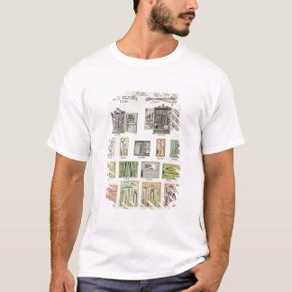 Camiseta Ferramentas e caixas de ferramentas de um catálogo