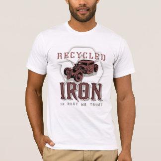 Camiseta Ferro do reciclado