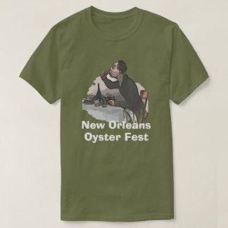 Camiseta Fest da ostra de Nova Orleães
