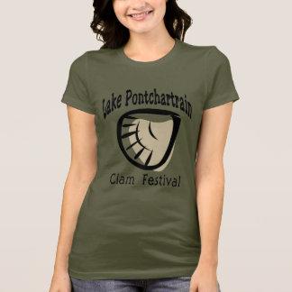 Camiseta Fest dos moluscos de Pontchartrain do lago