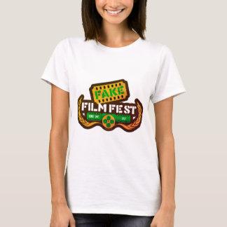 Camiseta Fest falsificado retro do filme