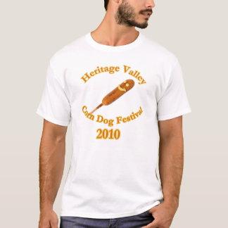Camiseta Festival 2010 do cão de milho do vale da herança