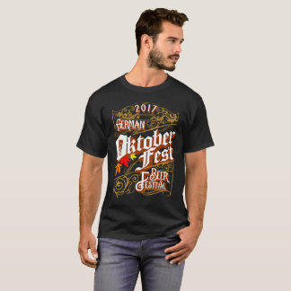 Camiseta Festival 2017 da cerveja de Oktoberfest